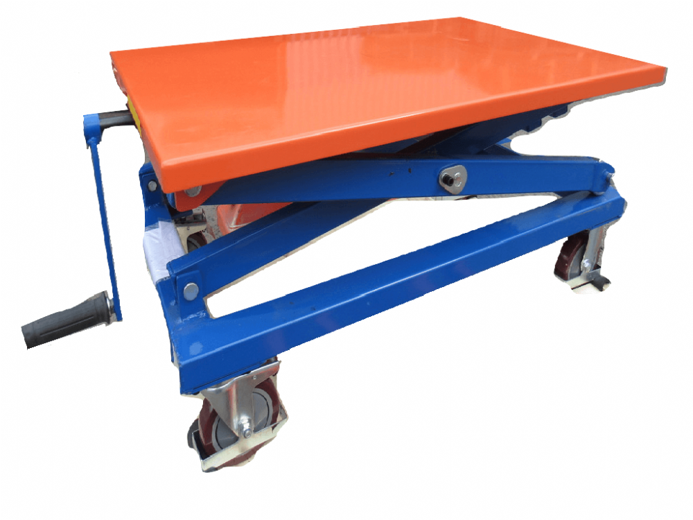 350KG Spindle Scissor Lift Table | SecureFix Direct